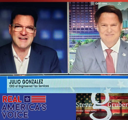 The Steve Gruber Show on Real Americas Voice - 5-21-Live