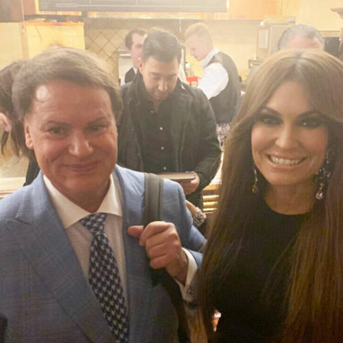 Julio and Kimberly Guilfoyle
